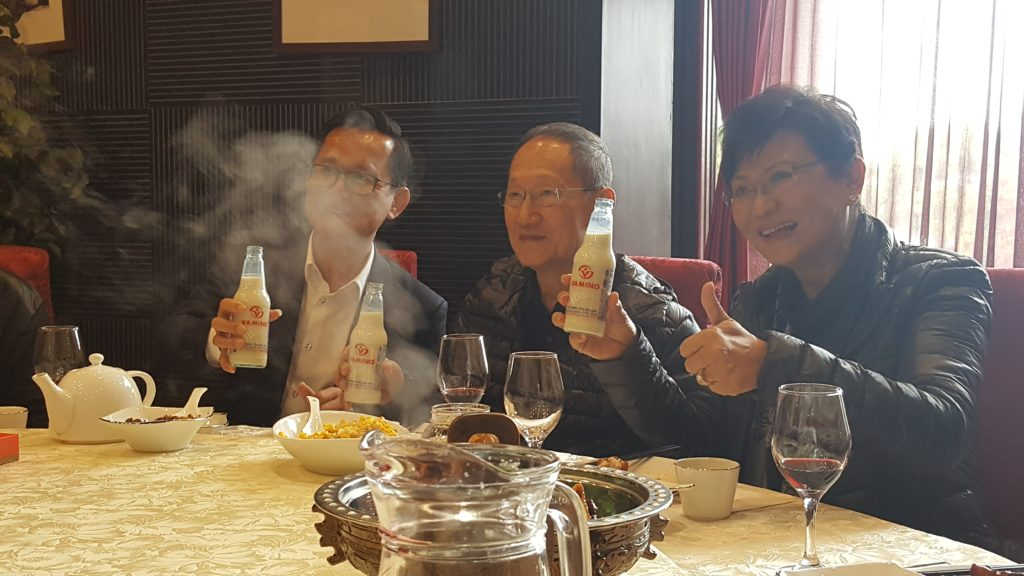 Vitamilk เข้าไปเปิดตลาดในเมืองจีนเรียบร้อยแล้วครับ