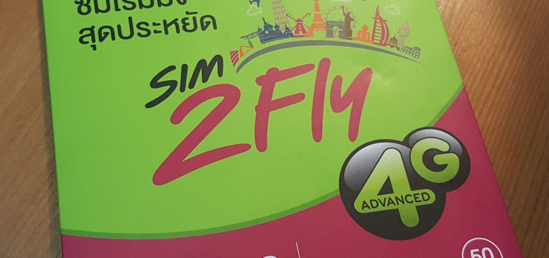 กล่องซิม sim2fly ของ AIS