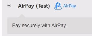 วิธีการชำระเงินด้วย Airpay