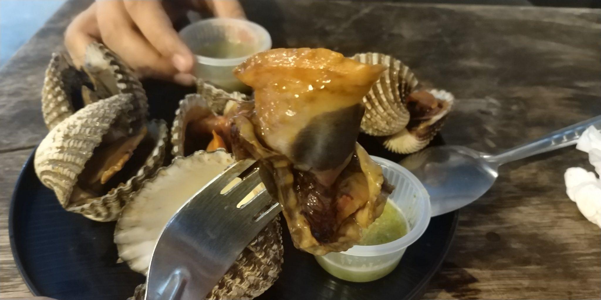 ถ่ายหอยกันให้เห็นชัดๆ หอยใหญ่มั้ย?